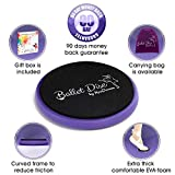 Ballet Turning Disc for Dancers, Gymnastics and Ice Skaters. Portable Turn Board for Dancing on Releve. Make Your Turns, Pirouette and Balance Better