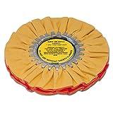 Zephyr AWY 58-8 FC4 Yellow 1 on 1 4 Fast Cut Airway Buffing Wheel