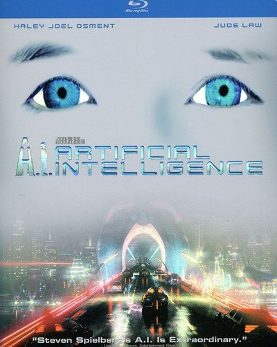 Blu-ray : A.I.: Artificial Intelligence (, Dubbed, Dolby, AC-3, Digital Theater System)
