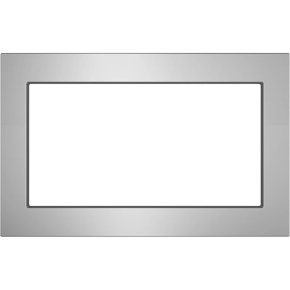 "GE Stainless Steel 30"" Built-in Microwave Oven Trim Kit"
