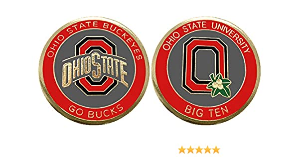 THE Ohio State University Buckeyes Horseshoe Military Challenge Coin