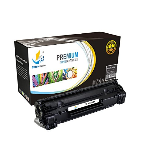 Catch Supplies CF283A 83A Premium Black Replacement Toner Cartridge Compatible with HP LaserJet Pro MFP M125 M125nw M126 M127 M127fn M128, M201 M201dw M202, M225 M225dw Laser Printers |1,500 - Class Delivery First Package Time