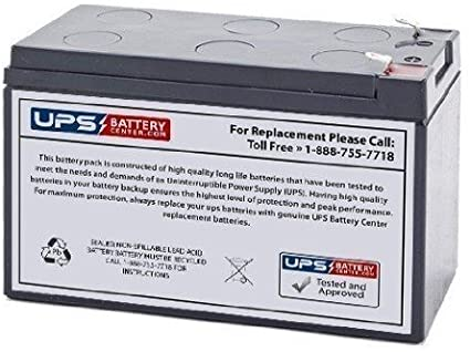 SLA Replacement Battery for CSB GP1270F2 12V 7Ah Sealed Lead Acid