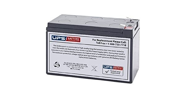 Hello Kitty 12V SUV Replacement Battery Set by UPS Battery Center