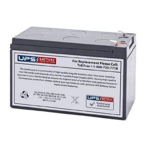 12V 7Ah F2 - Replacement battery for Best Power Patriot SPI400 by UPSBatteryCenter