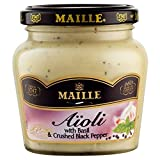 Maille Aioli with Basil & Crushed Black Pepper (200g) - Pack of 6