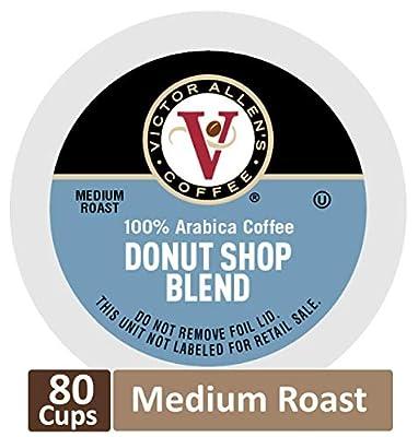 Caramel Macchiato for K-Cup Keurig 2.0 Brewers, 80 Count, Victor Allen's Coffee Medium Roast Single Serve Coffee Pods from Victor Allen