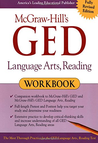McGraw-Hill's GED Language Arts, Reading Workbook