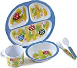 5 PIECES KIDS DINNER SET BUGABOO