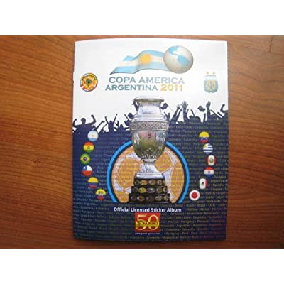 Panini Copa America Argentina 2011 Stickers 348 Complete Collection New: Toys & Games