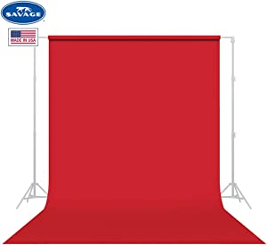 Savage Seamless Background Paper - #8 Primary Red (53 in x 36 ft)