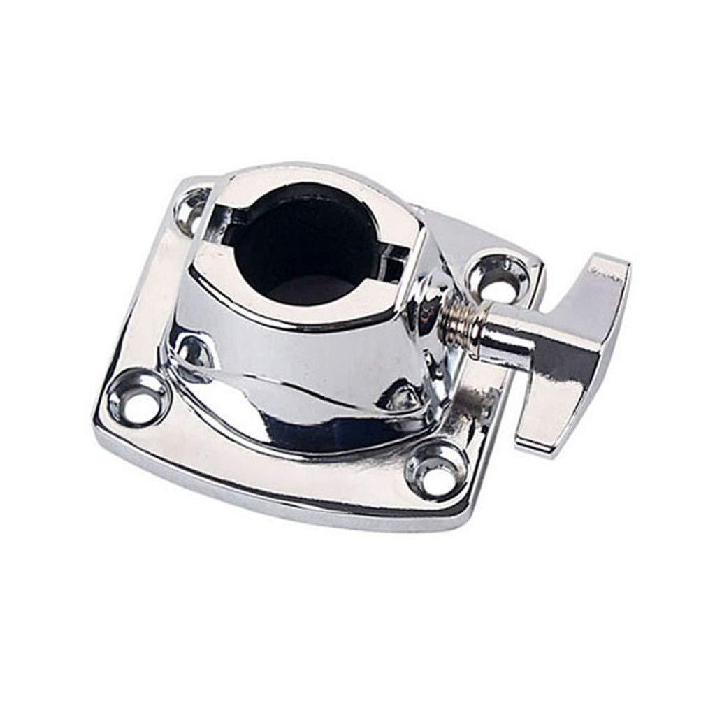 HEALLILY tom supporto per piatti morsetto grancassa staffa di montaggio tom strumento di sostituzione strumento per tamburo