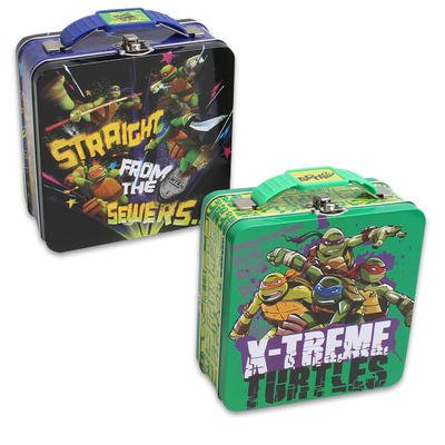Wholesale Ninja Turtles Tin Lunch Box - Asst 5 3/4""
