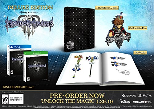 51K8iDy2TyL - Kingdom Hearts III - PlayStation 4 Deluxe Edition