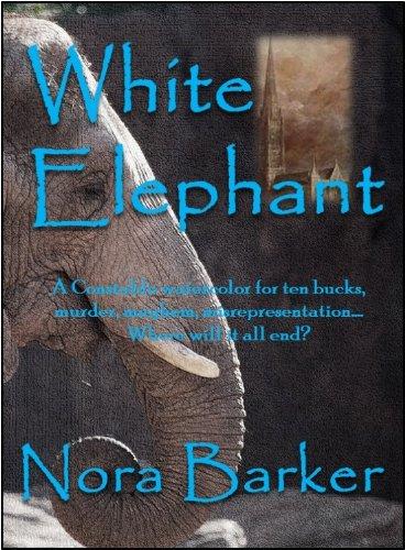 Elephants Fine Art - White Elephant (The Fine Art of Murder)