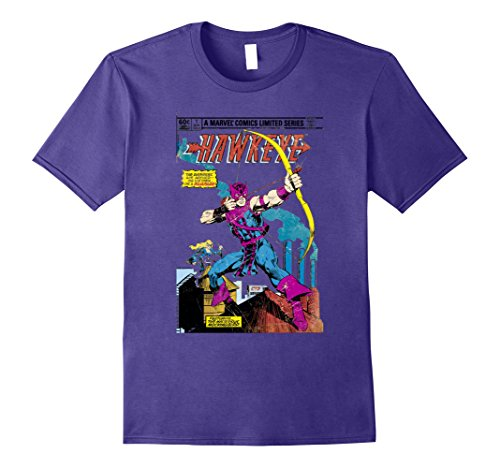 Marvel+Comics+Retro+Shirt Products : Marvel Hawkeye Classic Retro Comic Book Art Graphic T-Shirt