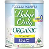 Baby's Only Organic Non-GMO Dairy Formula, 12.7 oz (Pack of 6)