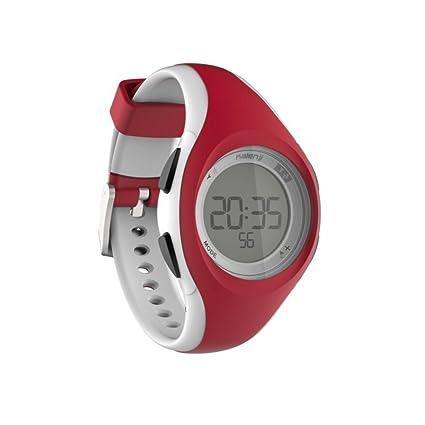 Kalenji W200 S - Reloj de Pulsera para Mujer y niño, Rosa y Blanco ...
