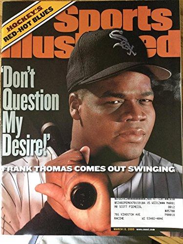 2000 Sports Illustrated Magazine - Sports Illustrated March 13 2000 Frank Thomas White Sox