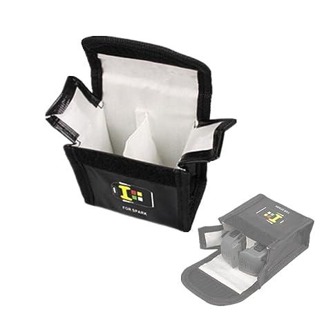6d1aaa83f2 Hensych® Custodia con batteria Safe bag cover explosion-proof bag per DJI  Spark batteria
