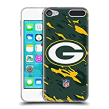 Official NFL Camou Green Bay Packers Logo Soft Gel Case for Apple iPod Touch 6G 6th Gen