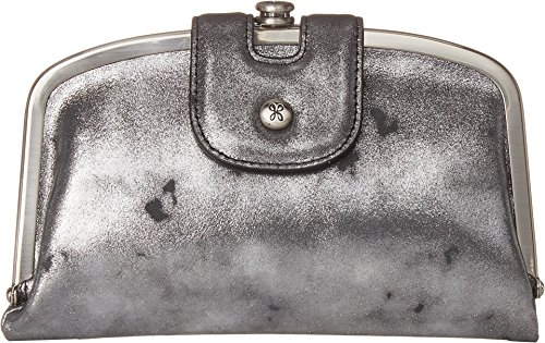 Vintage Hobo Womens Compact Smoke Leather Wallet Halo qwFwUP