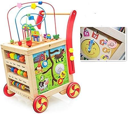 Andadores 5-en-1 Centro de Actividades de bebé Empujar Walker ...