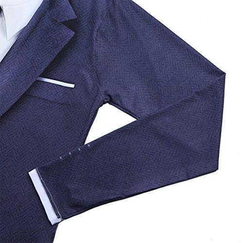 Freebily Camiseta Estilo de Traje Esmoquin para Hombre Chico Camiseta de Fiesta UKR6aMv