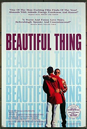 Beautiful Thing 1996 Original U.S. One-Sheet Movie Poster Lgbtq Cinema Steven M. Martin John Savage Film Directed by Hettie Macdonald