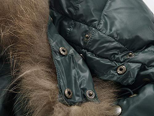 Down Jacket Jacket Comfortable Hooded Men Schwarz Collar Winter Men Parka Fur Winter Coat Jacket Windproof Men Coat Quilted Jacket Battercake Jacket Jacket Men 70qAx1p