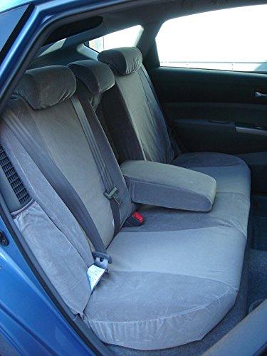 Amazon Durafit Seat Covers Toyota Prius Back Set Rear 40 60 Split In Beige Twill Automotive