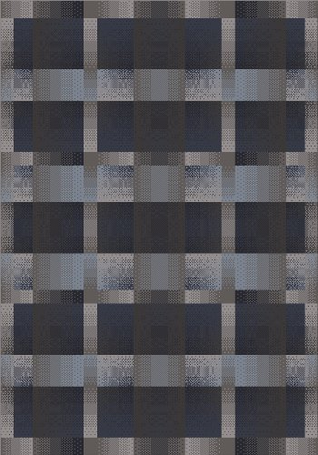 Milliken 4000058481 Modern Times Collection Aura Rug, 7'7