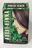 #10: Adore Henna Herbal Based Hair Color Powder, Dark Brown, 60g