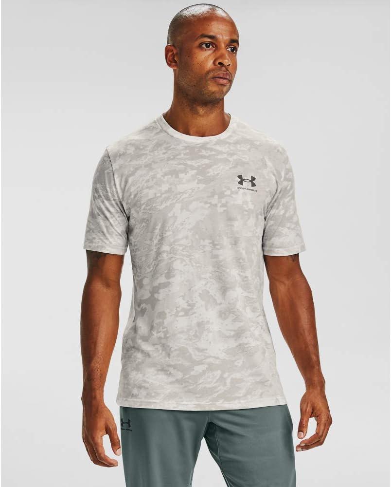 Under Armour Mens ABC Camo Short Sleeve T-Shirt: Clothing