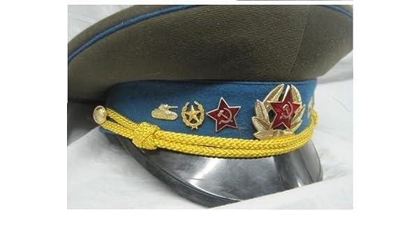 Gorra oficial de campaña militar de Rusia Soviética Gr, 58, aire ...