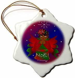 Amazon.com: Christmas Ornament Yves Creations African ...