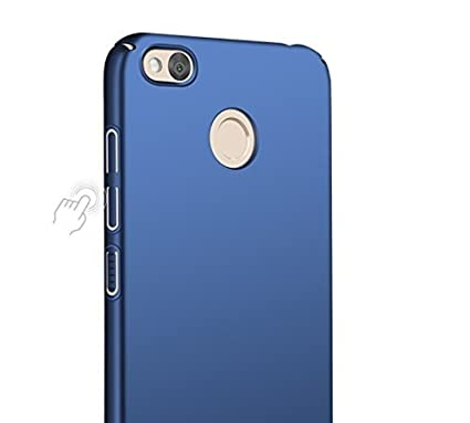 factory authentic bbf95 f4e39 For Redmi 4 BLUE COLOR Front Back Cover Case with Tempered Glass+ Cleaning  paper For Redmi 4 iPAKY 360 Degree Full Protection Blue Color