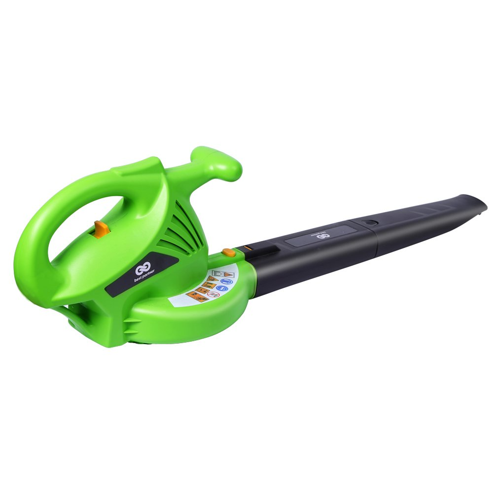 Best Partner BLG7000 2-Speed Corded Blower, All-Purpose Handheld Blower, 7-Amp, 160/200 MPH, Green by Best Partner