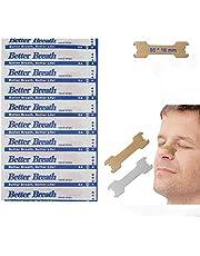 RZJZGZ Upgraded Anti Snoring Nasal Strips Medium Better Breathe Good Sleeping Nasal Pads (55 x16 mm)