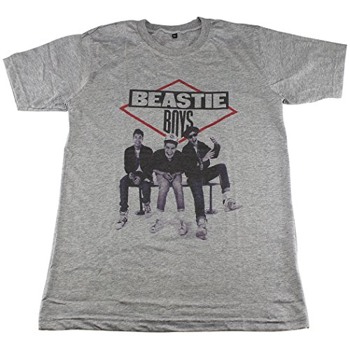 [Beastie Boys hiphop rapper old school T-Shirt Gray / GV30.3 size L] (Party Rock Crew Costume)