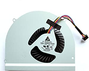 Replacement Compatible Laptop CPU Cooling Fan Cooler for Dell Latitude E6530 Model DC BRUSHLESS KSB05105HA-BH05 KSB05105HA-BH04 AT0LH002ZCL MF60120V1-C440-G9A SUNON MF60120V1-C450-G9A CN-02MK5J