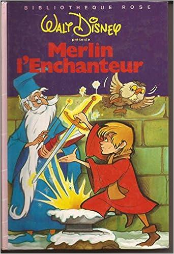 Amazon Fr Merlin L Enchanteur Bibliotheque Rose Walt