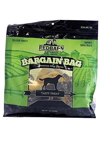Redbarn Pet Products Bargain Bag 2lbs. (Barn Jerky Red Chicken)