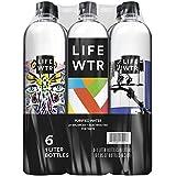 LIFEWTR, Premium Purified Water, pH Balanced with Electrolytes For Taste, 1 Liter bottles (6 Bottles) (Packaging May Vary)