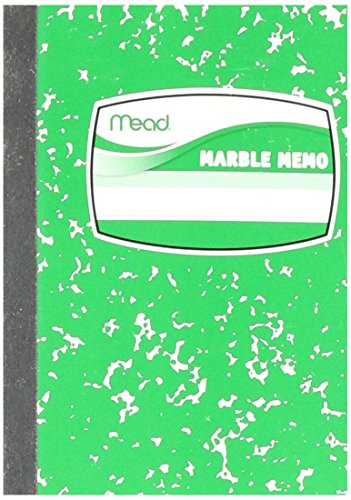 UPC 043100454175, Mead Square Deal Memo Book, Narrow Ruled, 80 Sheets, Assorted Colors (45417)