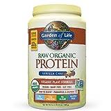 Garden of Life Organic Vegan Protein Powder with Vitamins and Probiotics - Raw Organic Plant Based Protein Shake, Sugar Free, Vanilla Chai 20.5oz (1 lb 4.5 oz / 580g) Powder