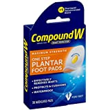 Compound W Wart Remover One Step Pads for Plantar Warts-20ct