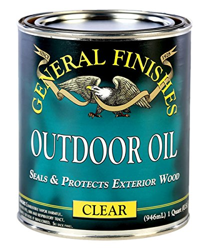 General Finishes Outdoor Oil, 1 - Finish Outdoor