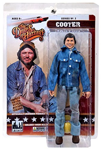 The Dukes of Hazzard Series 2 Cooter 12 Action Figure [12] by Dukes of Hazzard