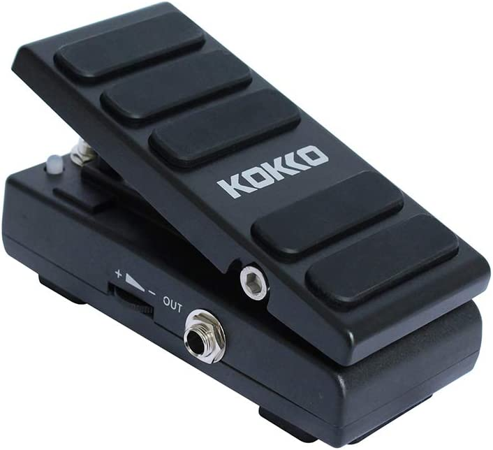 OUYAWEI KW-1 Pedal eléctrico para Efectos de Guitarra, Pedal de Volumen, Interruptor de pie, Accesorios para Guitarra, Accesorios electrónicos